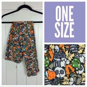 NIP LuLaRoe Leggings, Animals, OS